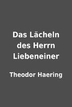 Das Lächeln des Herrn Liebeneiner by…