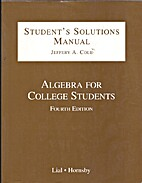 Student's Solutions Manual - Algebra for…