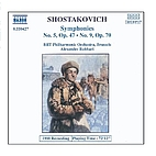 Shostakovich: Symphonies Nos. 5 and 9 by…