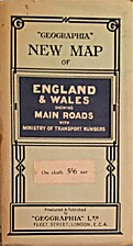 Geographia New Map of England & Wales…