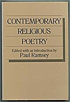 Contemporary Religious Poetry by Paul Ramsey