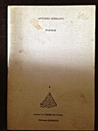 Poemas by Antonio Serrano