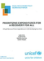 Prioritizing expenditures for a recovery for…