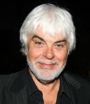 Author photo. Valerio Massimo Manfredi (1943-), Italian writer and archaeologist.