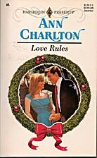 Love Rules by Ann Charlton