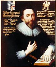 Author photo. Sir Robert Cotton, circa 1626, by Cornelius Johnson or Janssen. Wikimedia Commons.