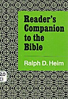 Reader's companion to the Bible by Ralph…