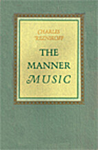 The Manner Music by Charles Reznikoff