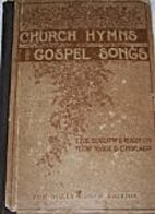 Church Hymns and Gospel Songs by Ira D.…