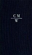 Sämmtliche Werke XIII. (S.1-S.3) by…