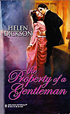 The Property of a Gentleman by Helen Dickson