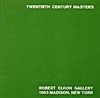 Twentieth Century Masters October 5-November…