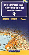 Regionalkarte (Sverige Syd) by Kartcentrum