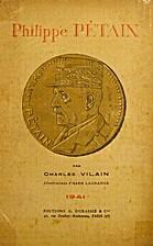 Philippe Pétain by Charles Vilain