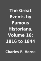The Great Events by Famous Historians,…