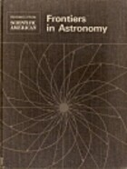 Frontiers in Astronomy by Owen Gingerich