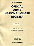 Official National Guard Register 1978 by…