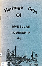 Heritage Days of McKellar Township