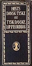 Høsts dansk-tyske og tysk-dansk lommeordbog…