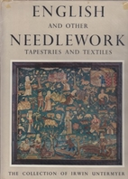 English and Other Needlework: Tapestries and…