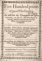 Five hundred points of good husbandry by…