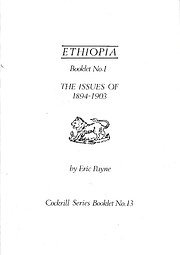 Ethiopia Booklet No.I - The Issues of…