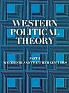 Western Political Theory from Its Origins to…
