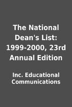 The National Dean's List: 1999-2000, 23rd…
