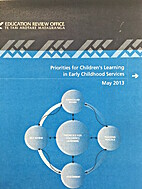 Priorities for children's learning in early…