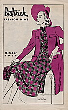 Butterick Fashion News, 1938 October by The…