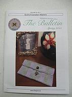 The bulletin by Guild of Canadian Weavers