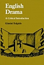 English Drama: A Critical Introduction by…