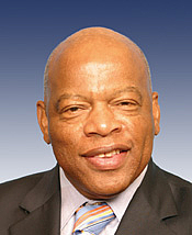 Author photo. John R. Lewis (b1940) ~ U.S. House of Representatives History Office
