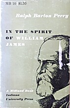 In the spirit of William James by Ralph…