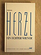 Herzl. Ein echter Wiener.Feuilletons.…