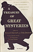 A Treasury Of Great Mysteries, Volume 1 by…