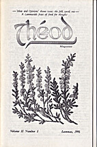 Theod Magazine Vol. II Number 3 Lammas 1995…