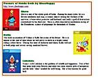 ITEM: Posters of Hindu Gods