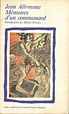 Mémoires d'un communard by Jean Allemane