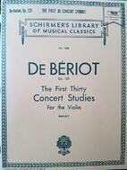 The First Thirty Concert Studies For the…