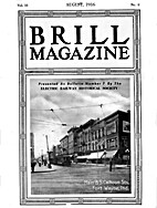 Brill Magazine of August 1916 Reprint…