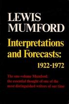 Interpretations and forecasts: 1922-1972;:…