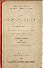 The Indian mutiny by Justin McCarthy