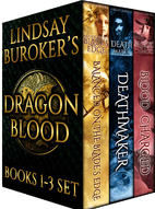 The Dragon Blood Collection, Books 1-3 by…