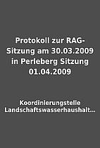 Protokoll zur RAG-Sitzung am 30.03.2009 in…
