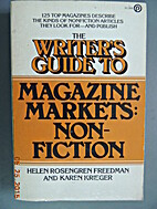 The Writer's Guide to Magazine markets:…