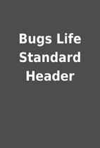 Bugs Life Standard Header