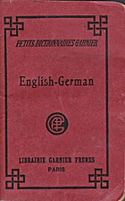 Little Dictionary, English-German by Dr. J…