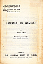 Ekskurso en nombroj by F. Emerson Andrews