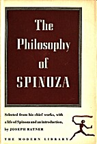 The Philosophy of Spinoza (Ratner selection)…